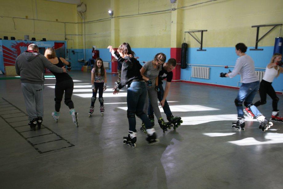 Rollersberg тренировка на роликах