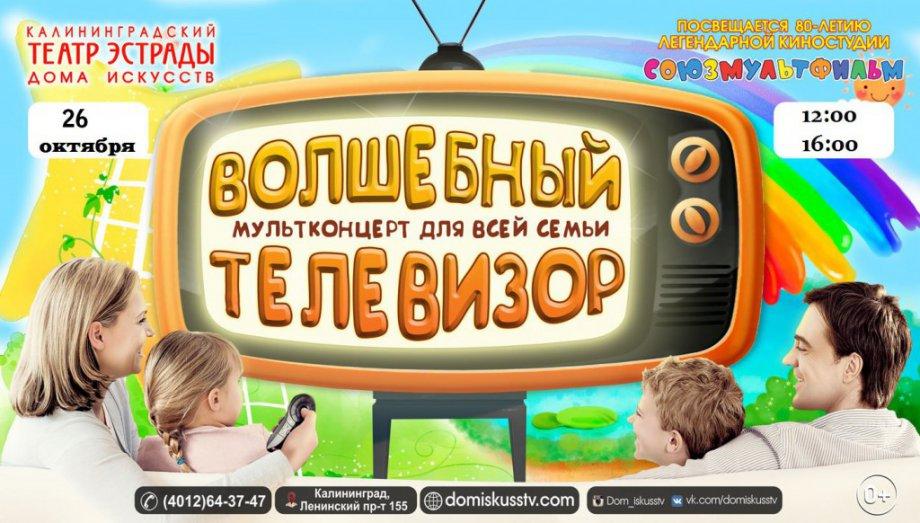 Мультконцерт «Волшебный телевизор»