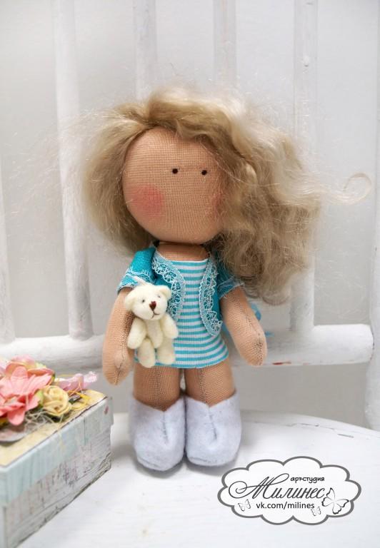 Пошив Куклы-Малышки из трикотажа