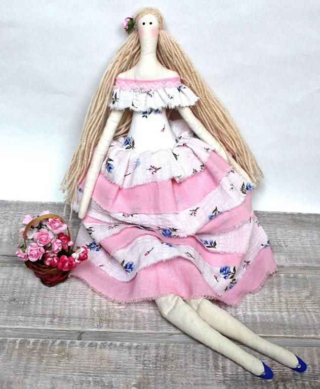 Пошив кукол-интерьерных игрушек