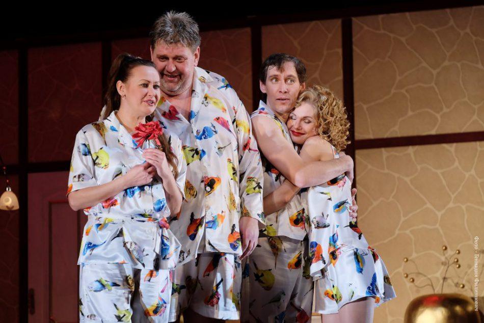 Пижама на шестерых