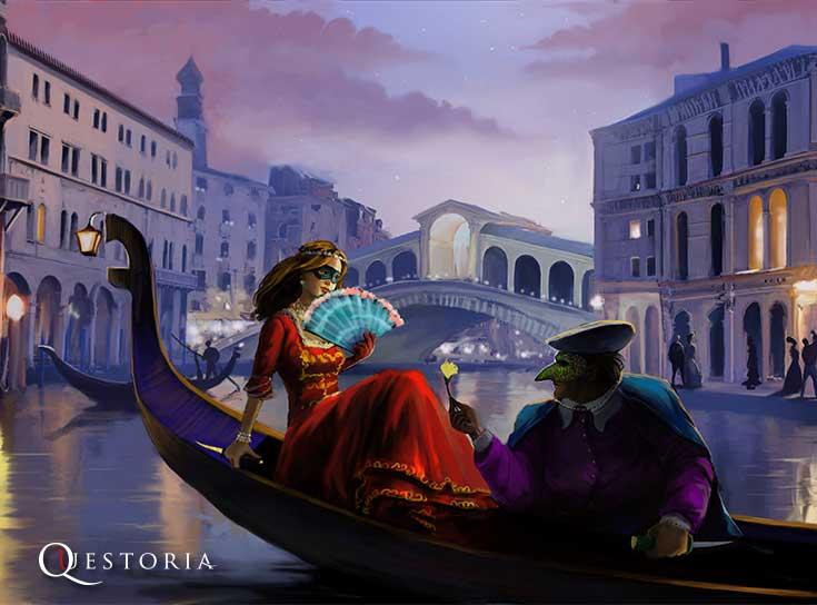 Живой квест «Тайны Венеции»