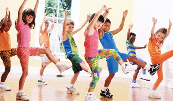 Открытый урок для деток по Dance mix