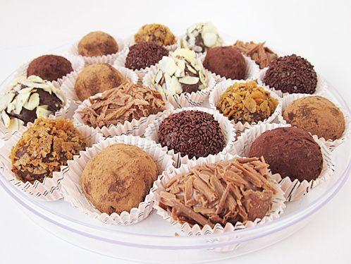 Детский мастер-класс «Шоколадный конфеты»
