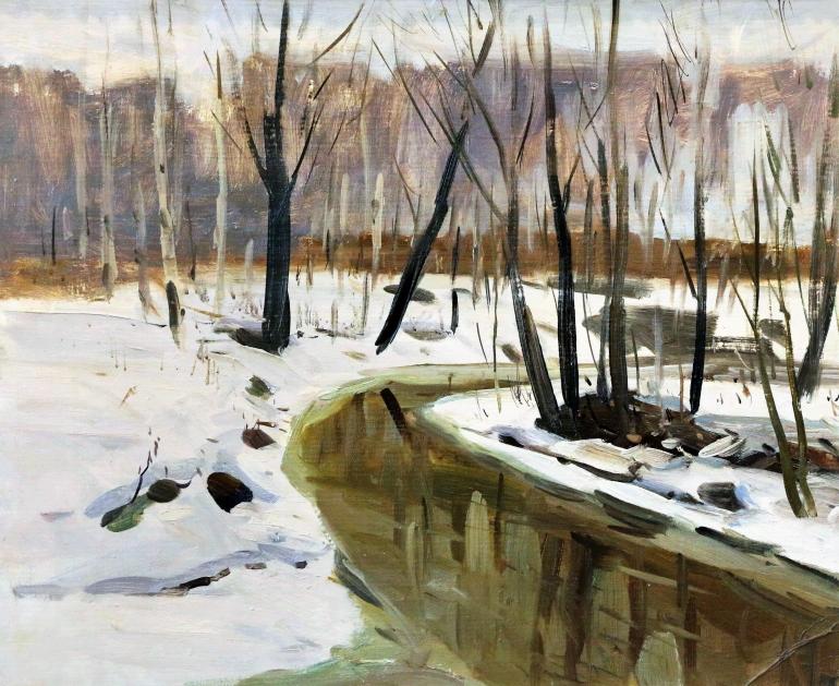Выставка «Зимним сном природа спит…»