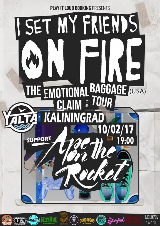 Концерт I SET MY FRIENDS ON FIRE в Yalta