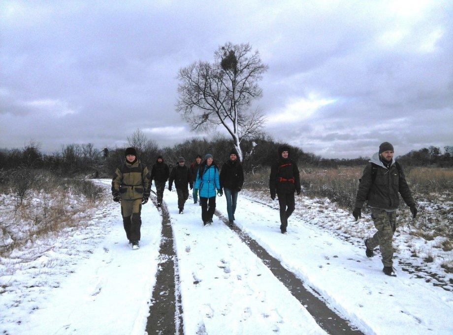 Пеший кросс на 25 км (Правдинск — Гвардейск)