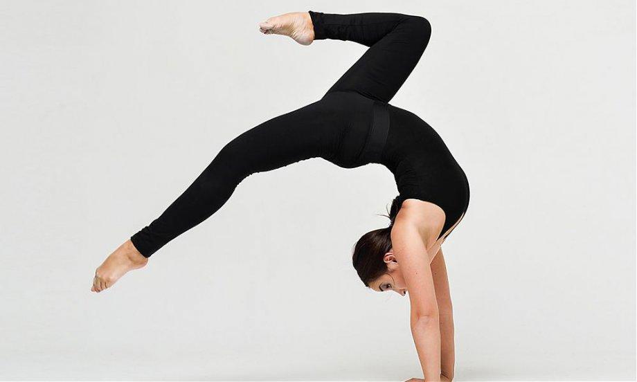 Открытый урок по акробатике
