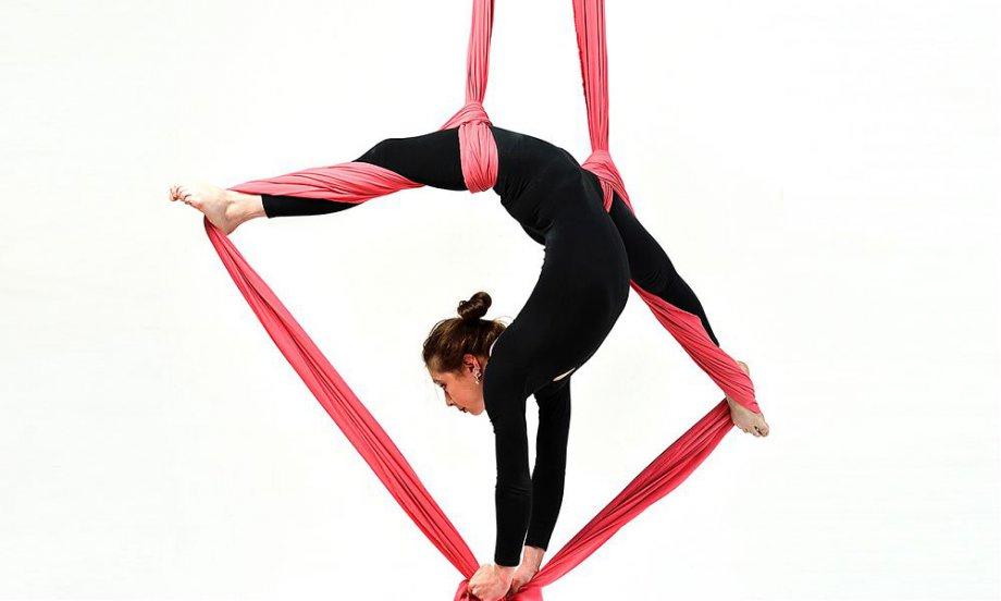 Открытый урок по воздушной гимнастике