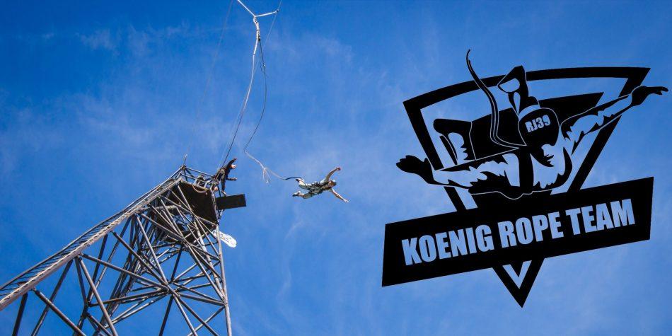 Прыжки с веревкой в Калининграде. Роупджампинг