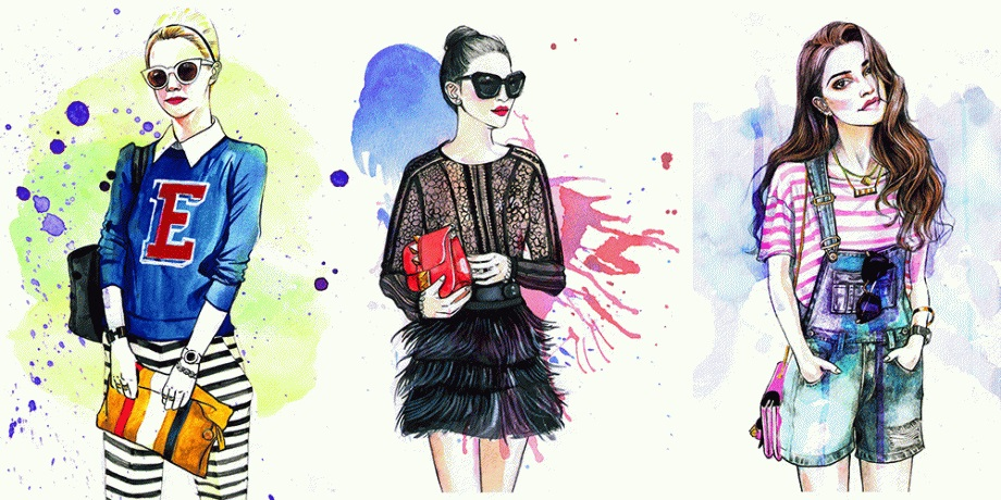 Курс «Fashion Illustration + Photoshop»