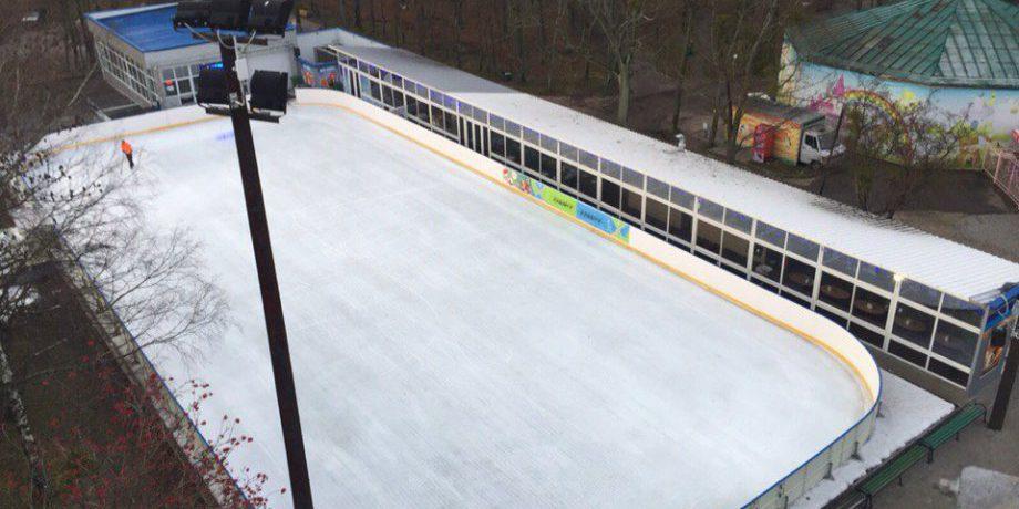 Ледовый каток с кафе ICE ПАРК (Парк Калинина)