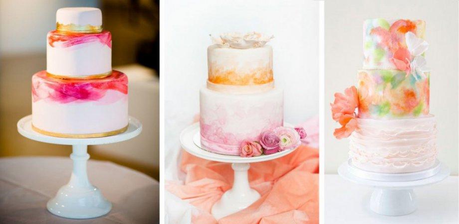 Кондитерский мастер-класс «Роспись торта»