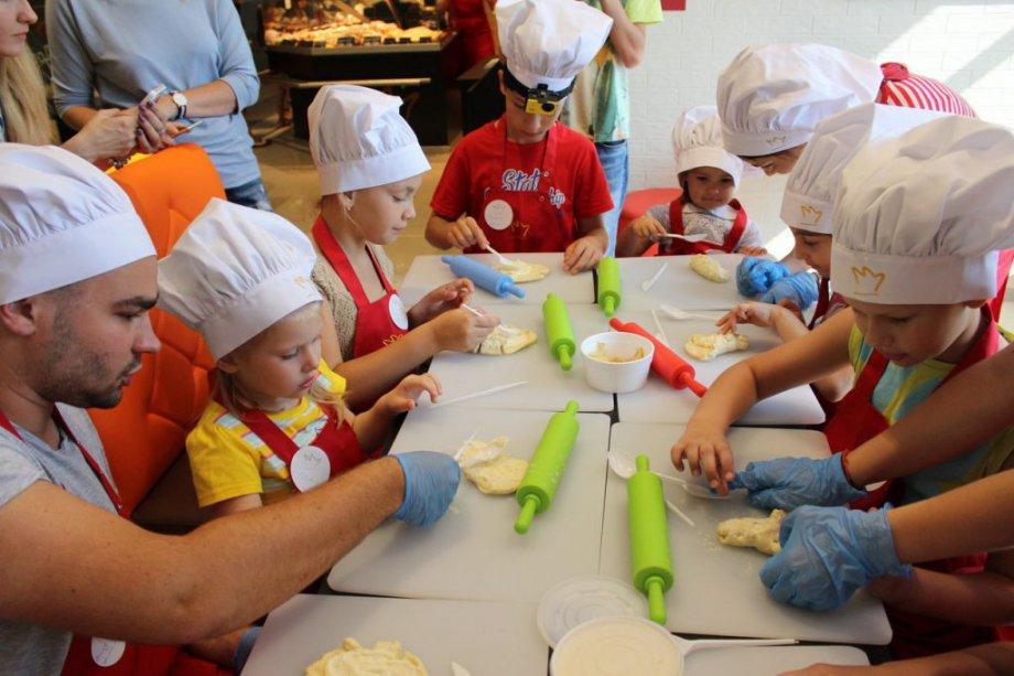 Детские мастер-классы от Konigsbacker