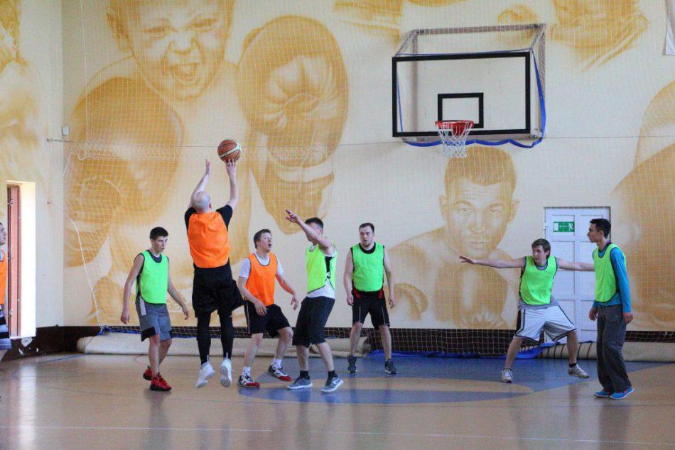 Игра в баскетбол для любителей