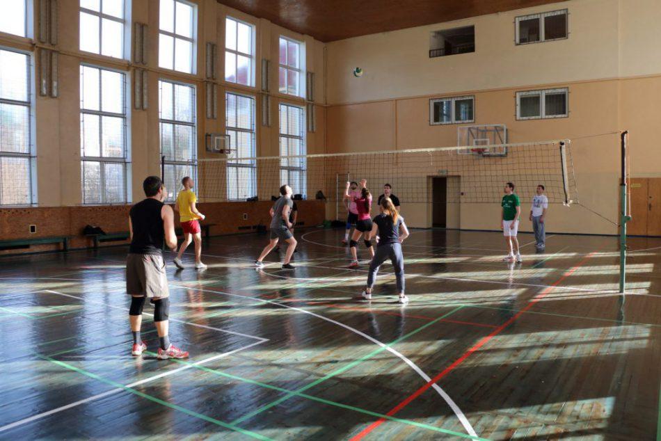 Игра в волейбол для любителей
