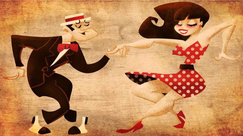 Вечеринка социальных танцев