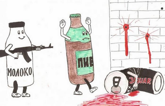 Молодежная акция «Молоко вместо Алкоголя»