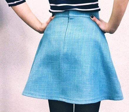 Мастер класс «Шьем юбку»