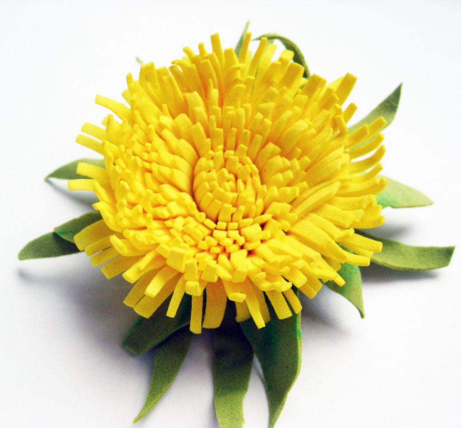 Мастер-класс «Солнечный цветок»