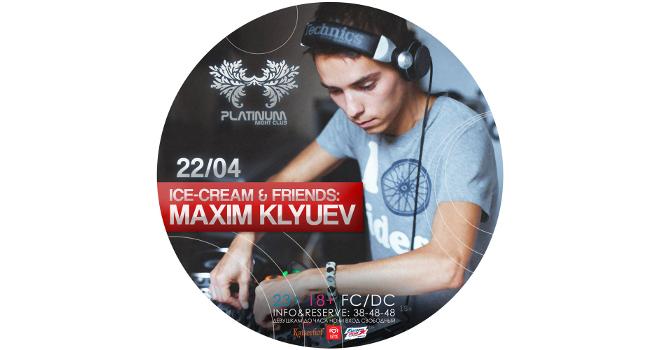 Ice-Cream & Friends: Maxim Klyuev