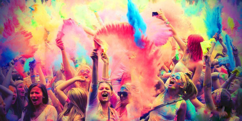 Фестиваль красок ЦВЕТОЛЕТОФЕСТ 2017
