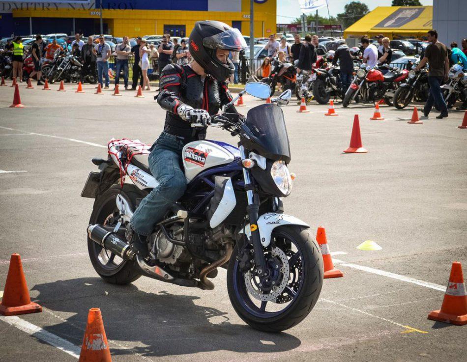 Тренировочный день для мотоциклистов