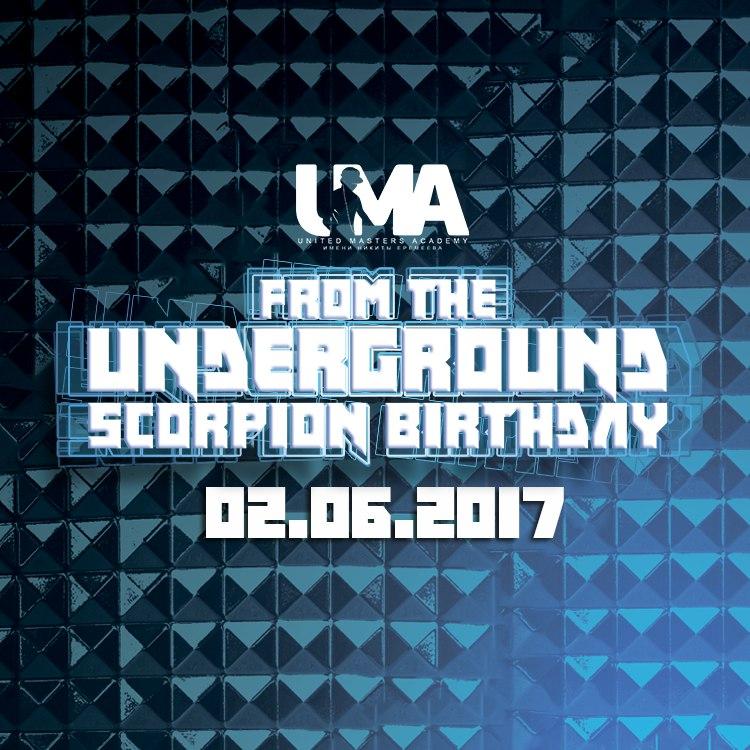 From The Underground: Scorpion Birthday Party