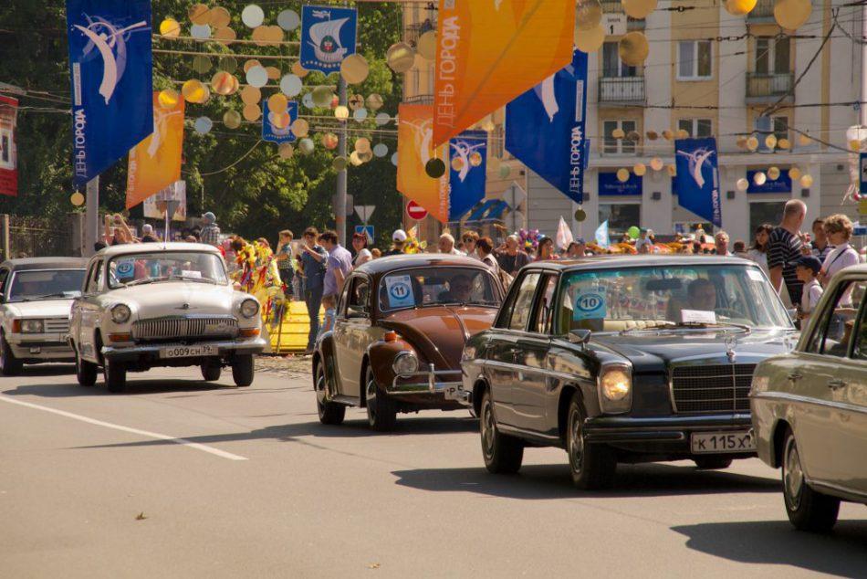 Фестиваль ретро автомобилей «Золотая тень Кёнигсберга-2017»