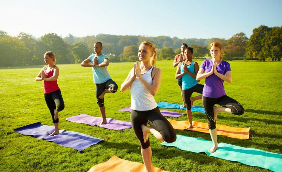 Проект «Йога в парке с Йога Юнити»