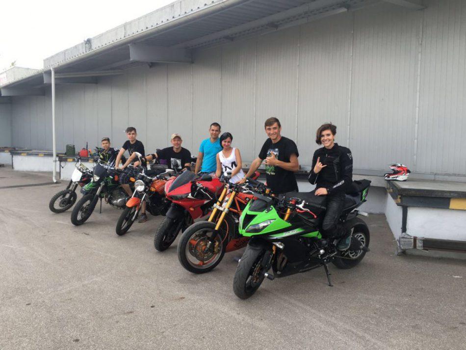 Открытый день тренировок для мотоциклистов