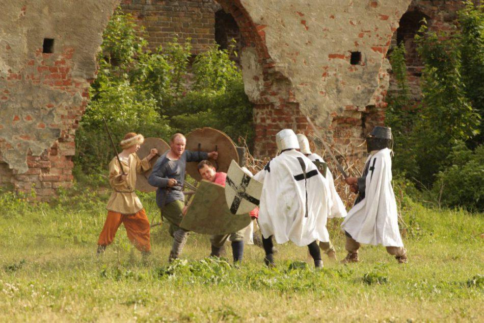 Историческая постановка в замке «Бранденбург»