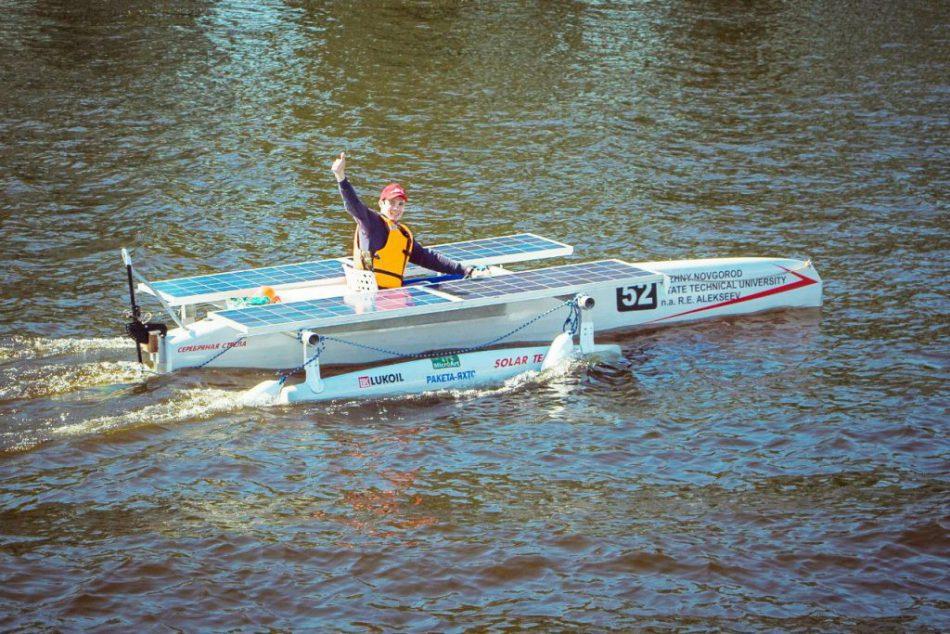 Гонки лодок на солнечных батареях «Солнечная регата»
