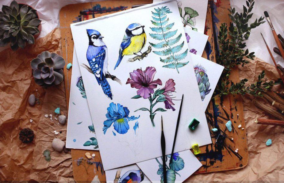 Мастер-класс по ботанической иллюстрации