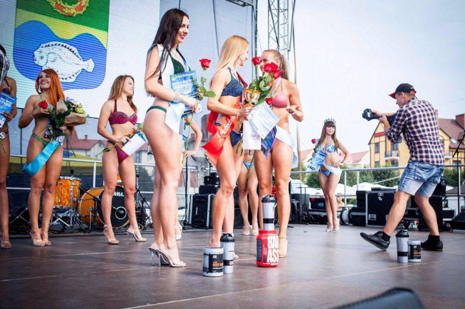 Шоу бикини 2017 в Зеленоградске