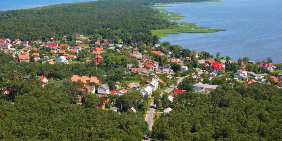 Поселок Лесной, Куршская коса