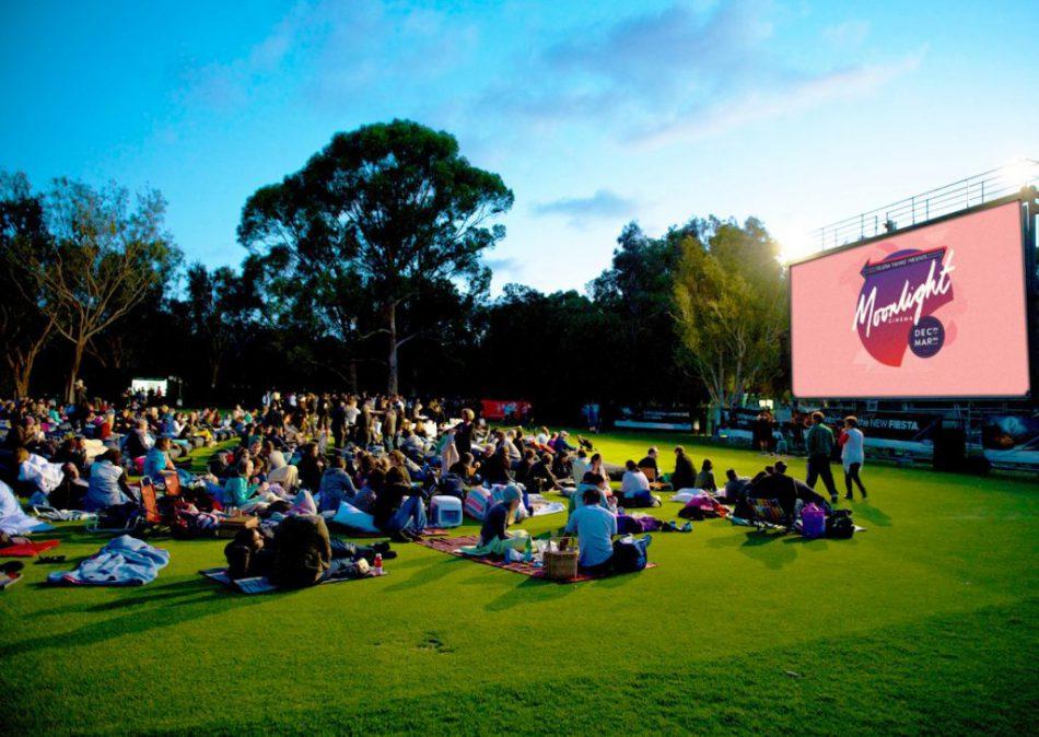 Кинотеатр в парке от Теле2