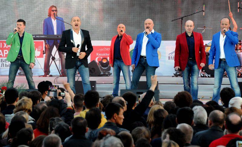 Хор Турецкого — Праздник песни на площади Победы