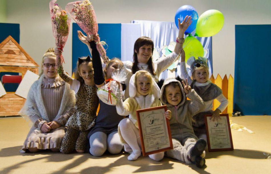 День открытых дверей в детском театральном кружке