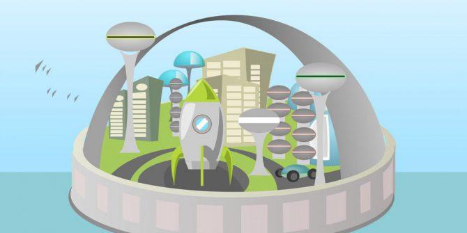 Город мечты - конструирование и моделирование