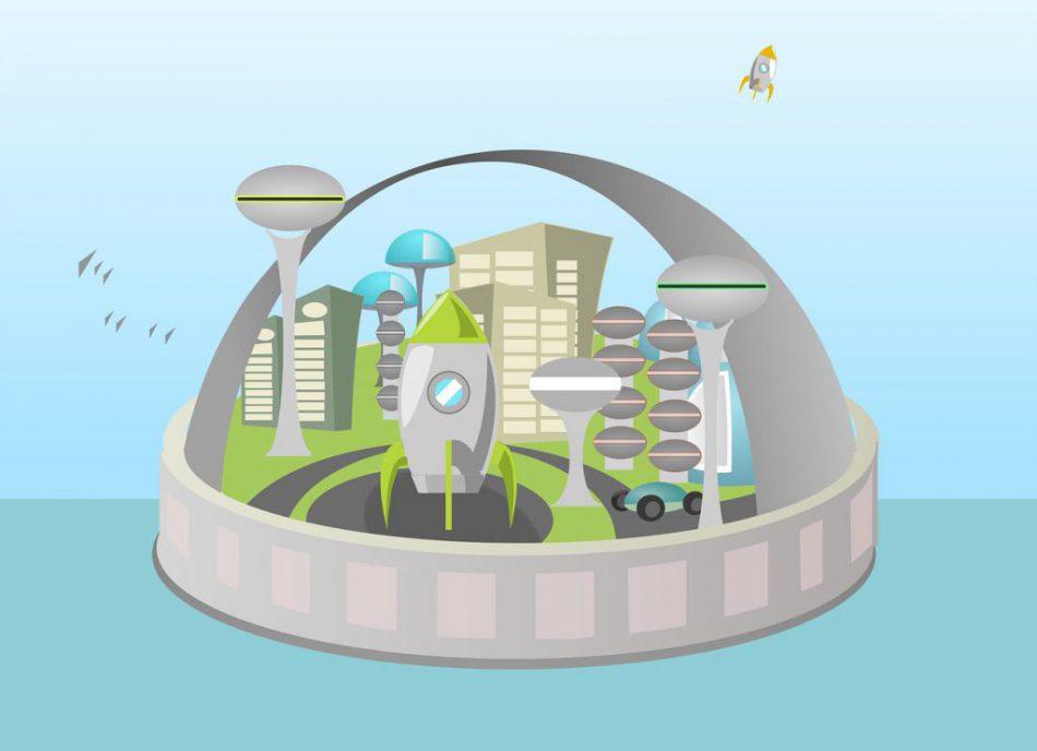 Город мечты — конструирование и моделирование