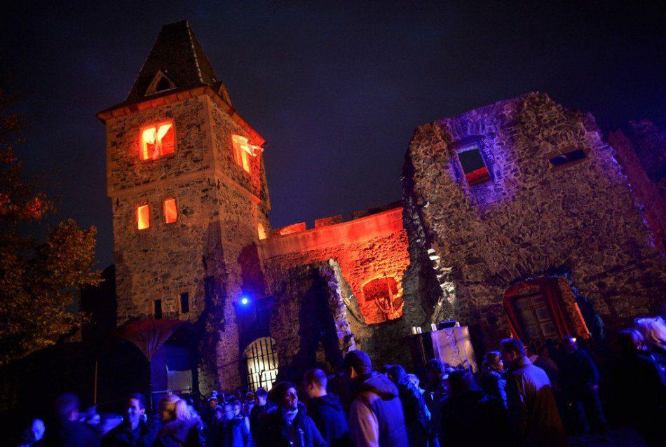 Halloween «Однажды в замке»