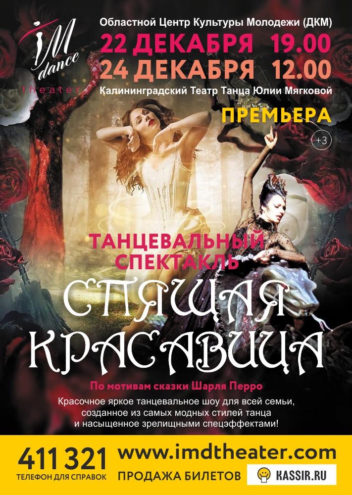 Танцевальный спектакль «Спящая Красавица»