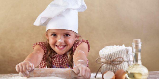 Детский кулинарный мастер-класс «Удиви свою семью»