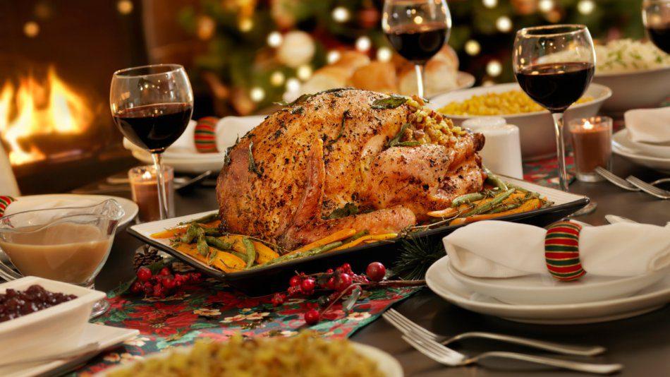 Подготовка рождественского меню