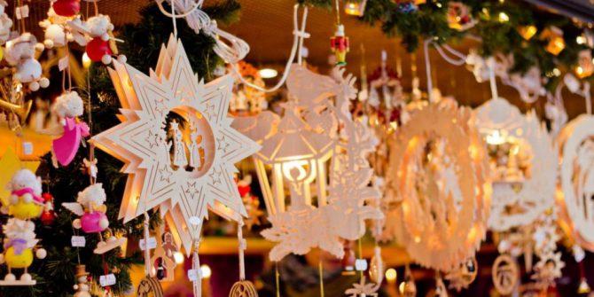 Рождественская ярмарка в Адехе