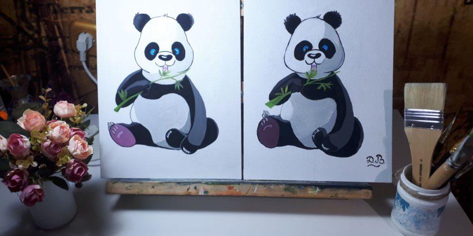 Детский мастер-класс по живописи