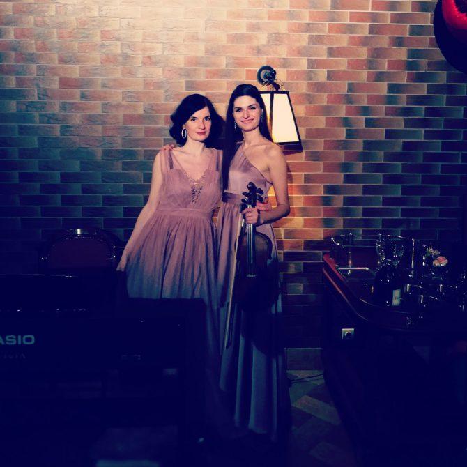 "Дуэт Duo cappuccino - ""Piazzolla vs Vivaldi"""