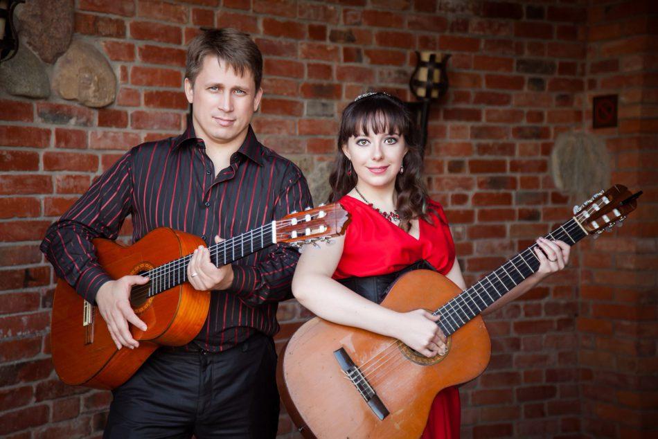 Дуэт«Alegrias» — Viva guitarra.