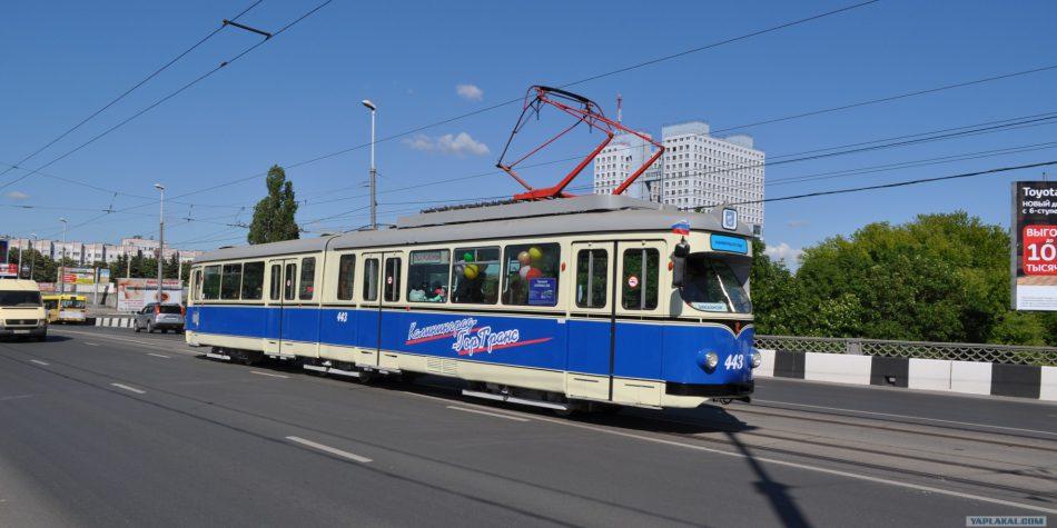 Экскурсия по городу на ретро-трамвае